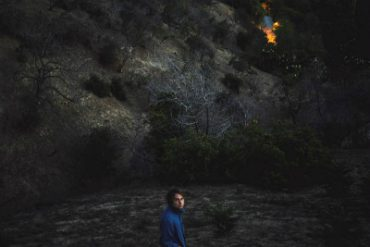 Kevin Morby singing saw album cover