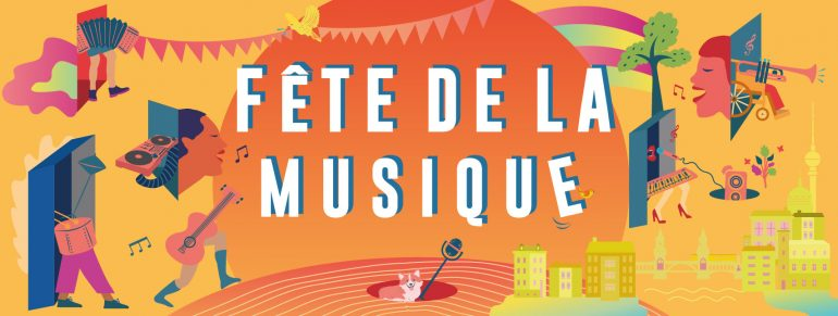 Fete de la Music Berlin Key Visual